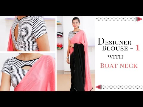 Intro of our online class for Designer Saree blouse with boat neck