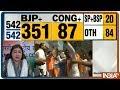 Lok Sabha Election Results 2019 LIVE Celebrating PM Modi39s Lead
