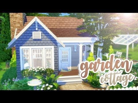 Garden Cottage // Sims 4 Speedbuild