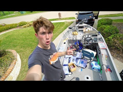 Rigging Up The NEW Boat!