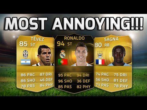 FIFA 15 - MOST ANNOYING TEAM EVER!!! - Fifa's Most Annoying Players Ever Squad Builder