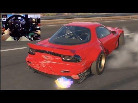 Forza Motorsport 7 GoPro Can I Still Drift On 900° Mazda RX7