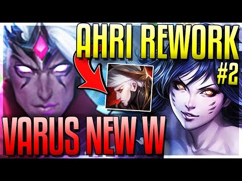 NEW VARUS W! AHRI REWORK AGAIN?! LUX SHIELD DEALS DMG NOW?? - New 8.8 Changes - League of Legends