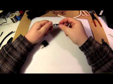Z Tutorial - How to Strip Speaker Wire and Use it
