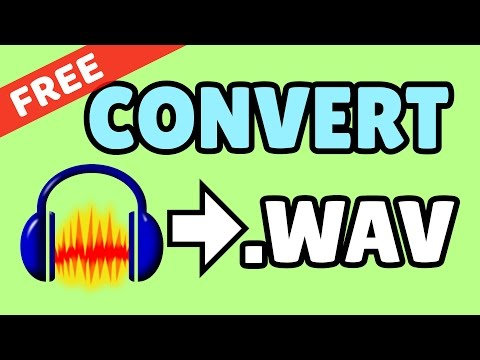 Convert Sound/Music to WAV/WAVE - EASY QUICK TUTORIAL