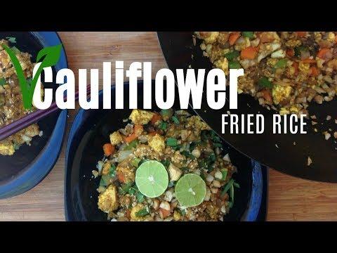 Vegan Cauliflower Fried Rice - Low-Carb Recipe