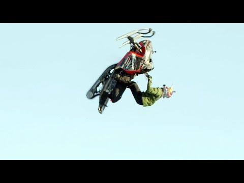Daniel Bodin Makes History with a World's First Snowmobile Double Backflip