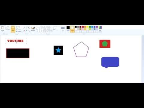 How to make background transparent in paint  [Ms paint]