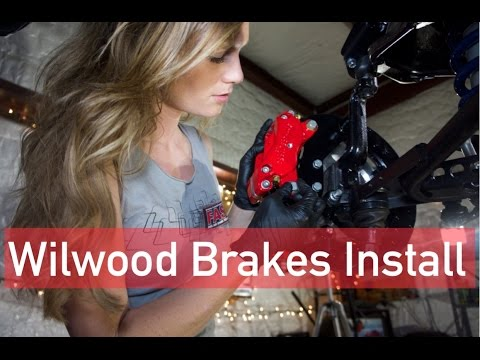 Wilwood brakes on 64 Impala SS - In the shop with Emily EP 17
