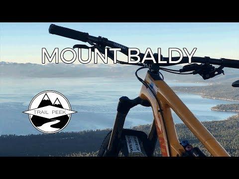 Shutting Down the High Country - Mount Baldy TRT - Mountain Biking Lake Tahoe Kings Beach California