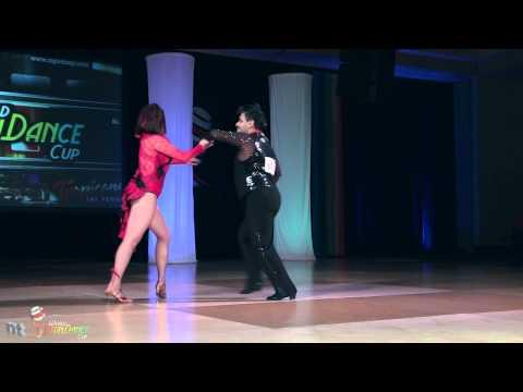 Zeke Ruvalcaba & Gaby Equiz-Jasso - cumbia 1st place - World Latin Dance Cup 2011