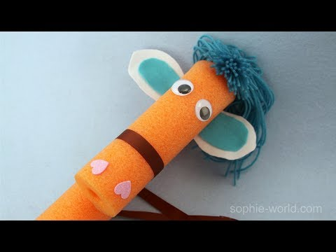 How to Make a Pool Noodle Pony | Sophie's World