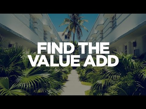 Find the Value Add - Real Estate Investing with Grant Cardone