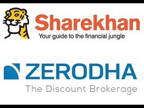 Sharekhan Vs Zerodha - Stock Brokers Comparison