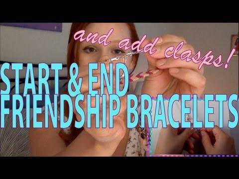 How to Make Friendship Bracelets ♥ Bracelet Ends ♥