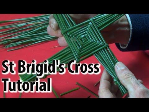 St Brigid's Cross Tutorial