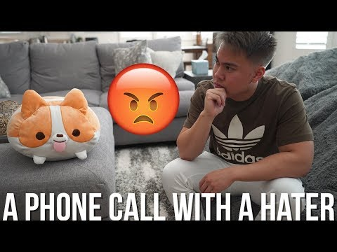 A Phone Call With A HATER