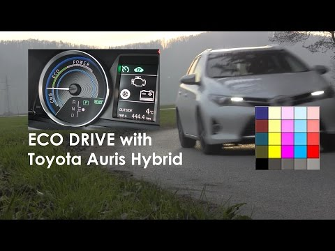 TOYOTA Auris Hybrid - How to drive a Hybrid
