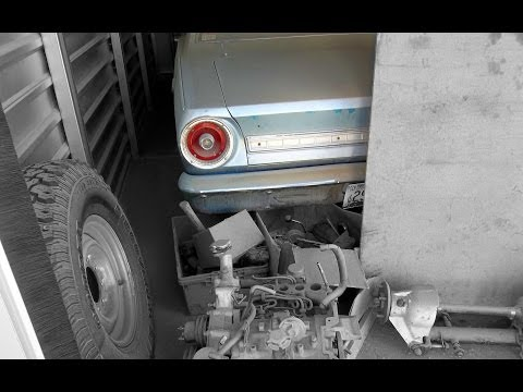 Storage Auction Find - 1966 FORD FALCON and MORE!