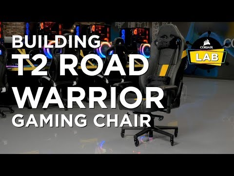 Building the CORSAIR T2 ROAD WARRIOR Gaming Chair