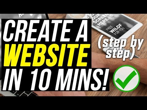 Create A WordPress Website From Scratch in 10 Minutes (Start to Finish) | Make a Website 2018
