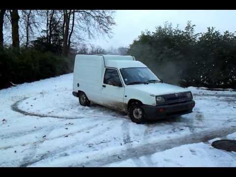 Drift sur la neige