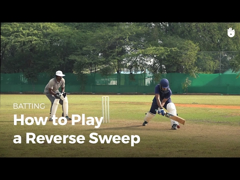 How to Play a Reverse Sweep | Cricket