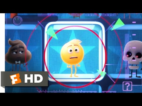 The Emoji Movie (2017) - Making the Wrong Face Scene (2/10) | Movieclips