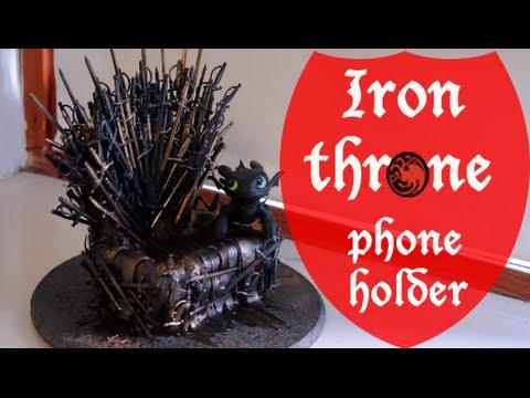 Iron throne phoneholder - DIY