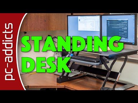 Tabletop Standing Desk - Ergotron Workfit-T