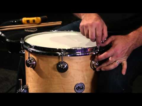 Tuning a head when drum is out of round - Drum Tuning #9