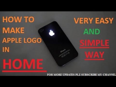 Make Apple Logo In Home