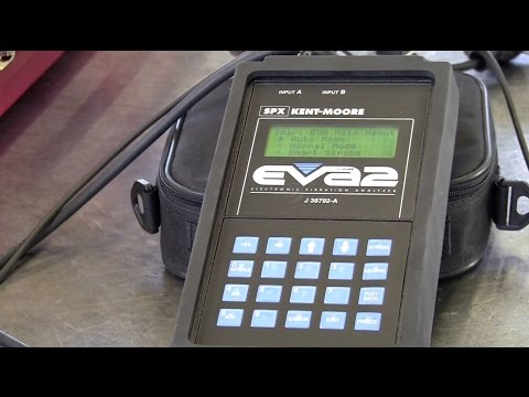 Automotive Vibration Analyzers - Part 2 of 5 - EVA