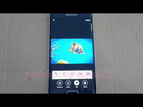 Android : How to Crop a Picture on Samsung Galaxy S6