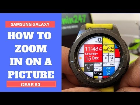Gear S3: How to Zoom In On A Picture.