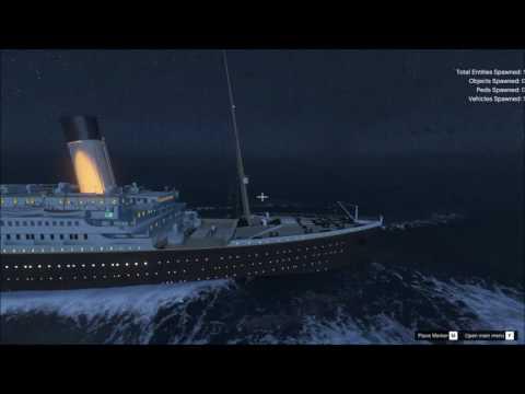 Titanic in Grand Theft Auto 5!