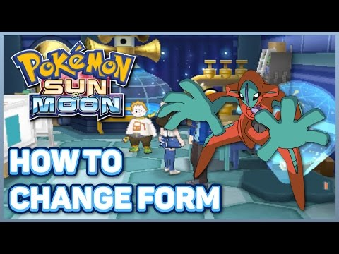How to Change Deoxys Form in Pokémon Sun and Moon