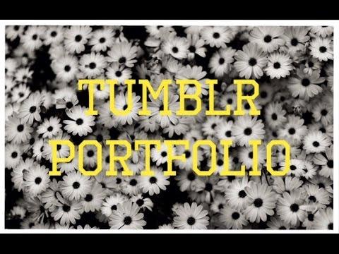 Tumblr Portfolio 🌸