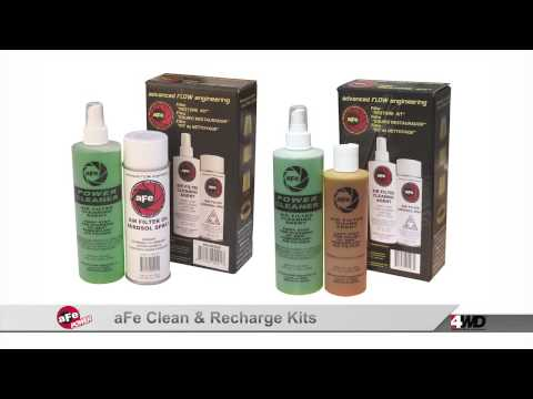 aFe clean & recharge kits