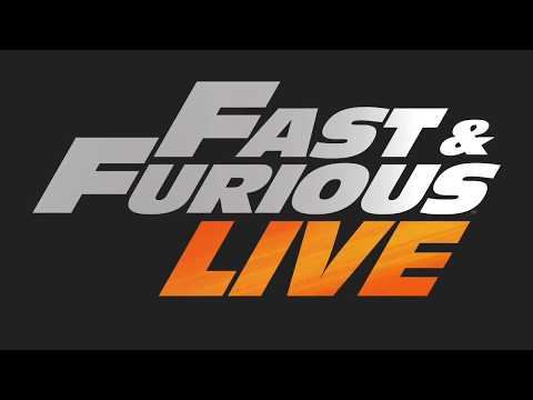 SNEAK PEEK: Fast & Furious Live arena shows 3D-projection mapping