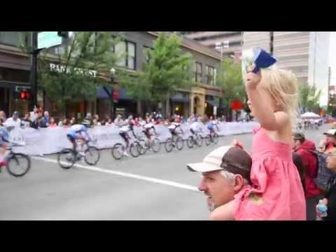 2015 Twilight Criterium Bike Race through downtown Boise