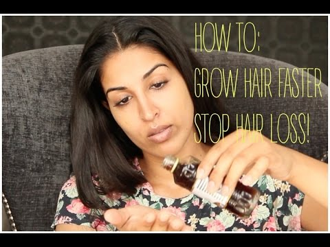 HOW TO GROW HAIR FASTER - BEST HAIR LOSS BALDING TREATMENT!
