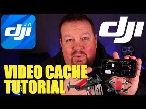 DJI Video Cache Tutorial | Mavic/Spark/Phantom (KlooGee Freeky Fast Friday)