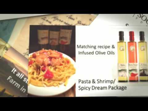 Matching Recipes with Infused Tuscan Olive Oil