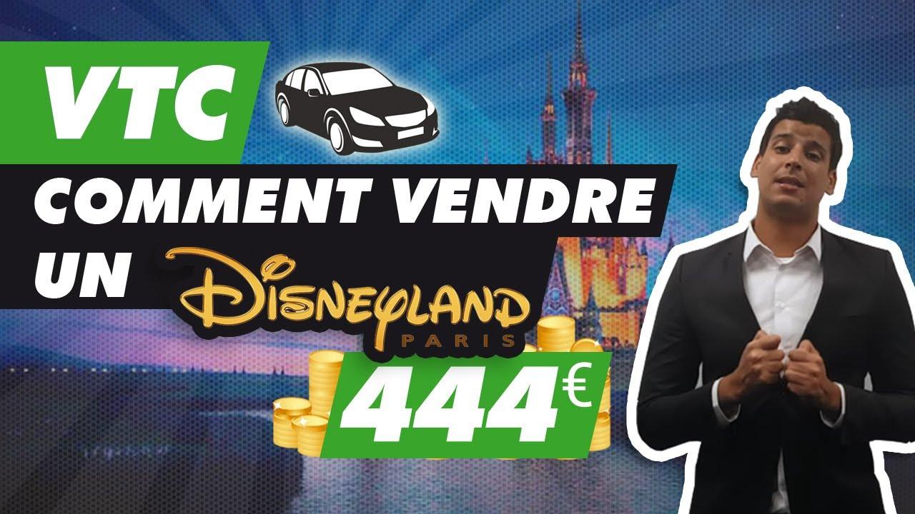 (1/7) Comment vendre des courses VTC Paris - Disneyland à 444€ !
