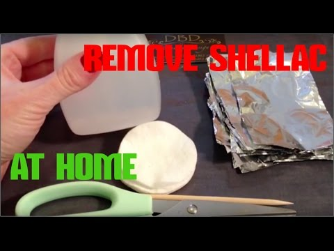 HOW TO REMOVE SHELLAC NAILS SAFELY AT HOME WITH FOIL & COTTON WOOL | REMOVE GEL POLISH AT HOME