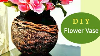 Flower Vase out of waste material | How to make flower vase at home on shelf material, sculpture material, flower material, teapot material, water material, rococo material, quilt material, bird material, blanket material, box material, brick material, carpet material, valentine material, glass material, painting material, tablecloth material, basket material, terracotta material, rope material, heart material,