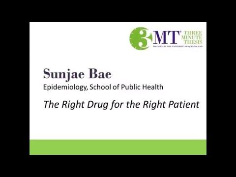 2018 Three Minute Thesis Finalist | Sunjae Bae