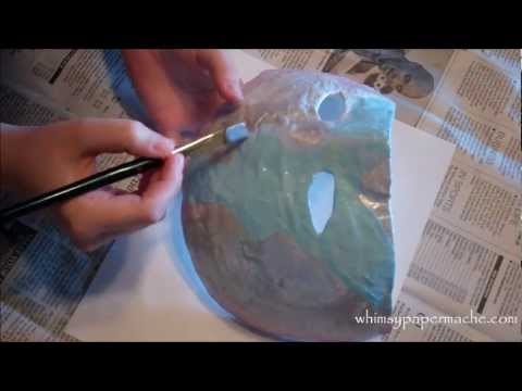 How 2 Make A Paper Mache Masquerade Mask