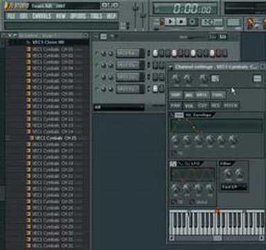 how to make a shuffle beat (fl studio 7)